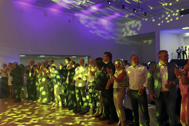 Around 400 guests celebrated the 25th anniversary of GeWeTe.