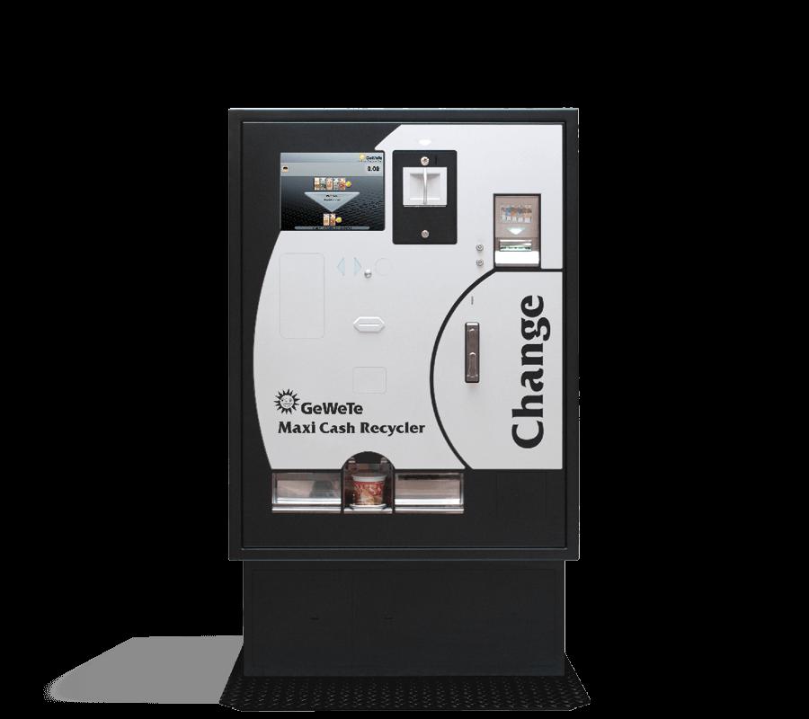 Geldwechselautomaten Sparkasse