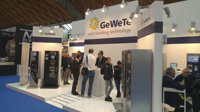 The GeWeTe Stand at ENADA Spring 2018