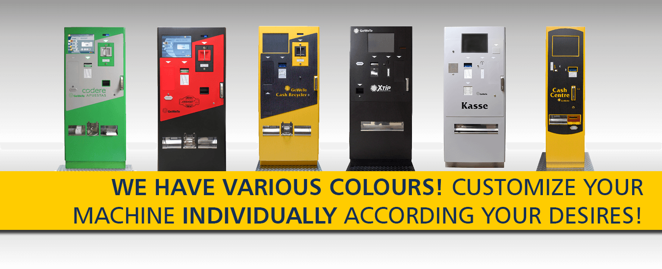 First class change machines from the market leader in Germany